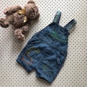 Baby boy size 2 NEXT BABY fully lined overalls